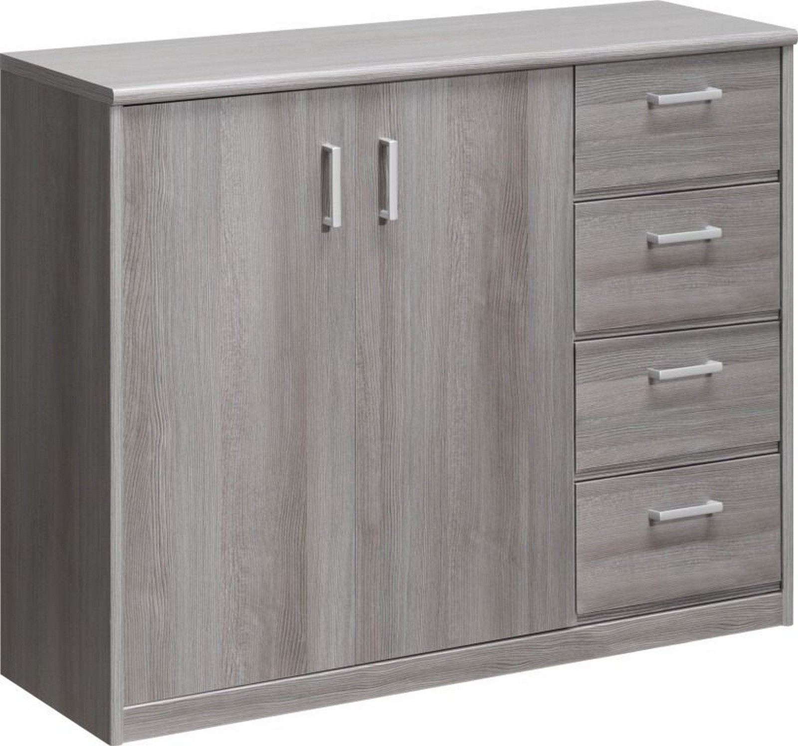 sideboard soft plus silbereiche kommode ebay. Black Bedroom Furniture Sets. Home Design Ideas
